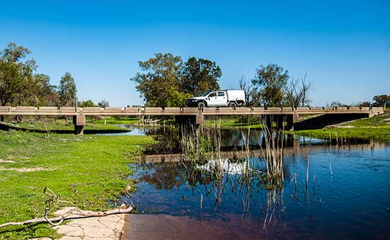 Bridge north of Moree