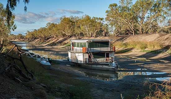 River boat Darling River