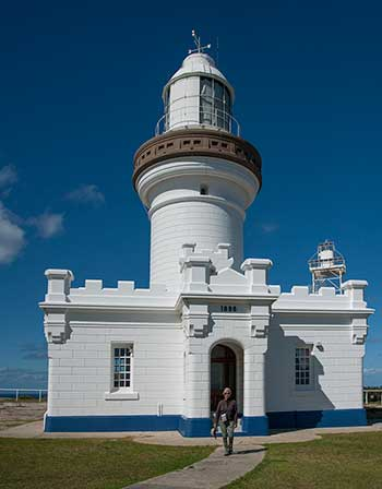 Old Point Perpendicular Lighthouse