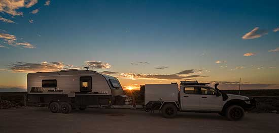 Camp two Nullarbor