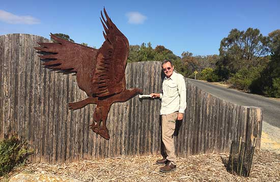 Geoff found another Eagle