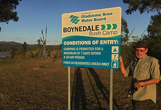 Boynedale Bush Camp Qld