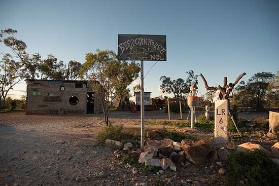 Beer Can House at Lightning Ridge